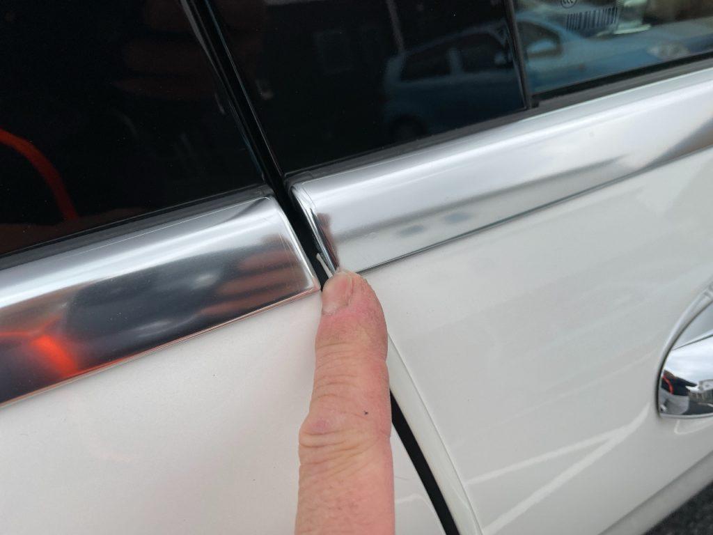 ガラスコーティング完成車両