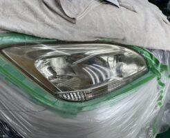 ヘッドライトプロテクション施工車画像