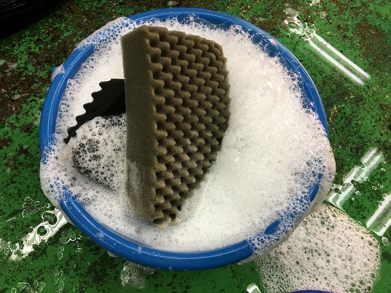 洗車用シャンプー使用前の画像